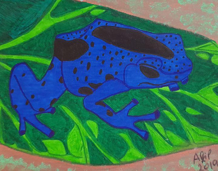 Blue Poison Dart Frog - Nature's Portal
