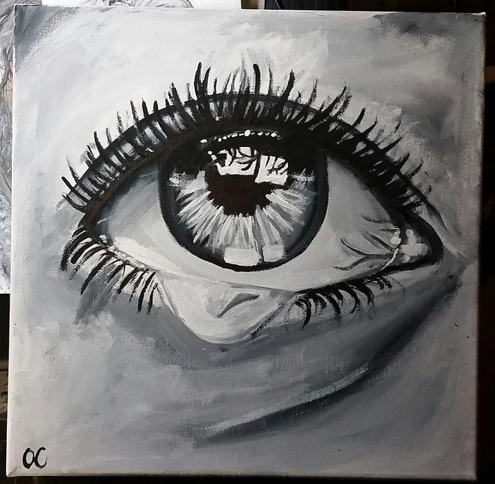 Crying Eye - Olivia Cornett