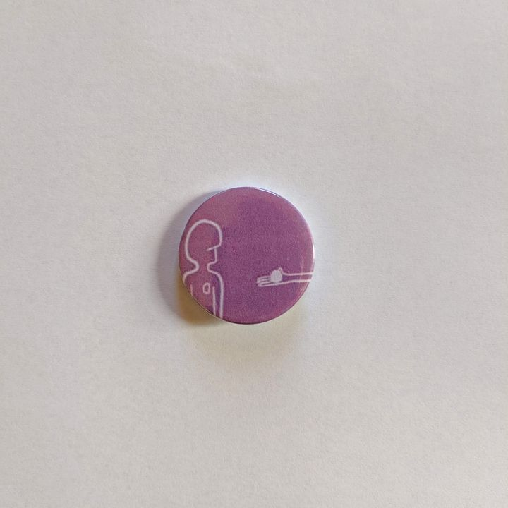 'Oh My Gosh You Found It' BADge - Caitlin Fauve
