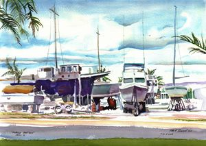 Haleiwa Boat Yard - John Norman Stewart