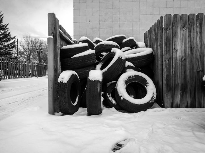 Pile of Tires - Ryans Photography