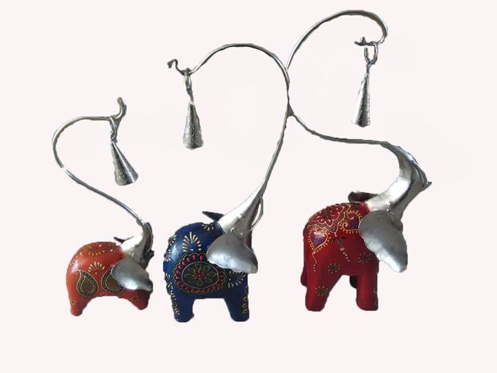 Elephant showpiece - Mithilanchalgroup