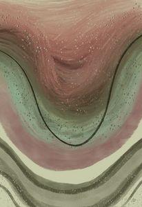 Abstract Sage Subdermal Stratum