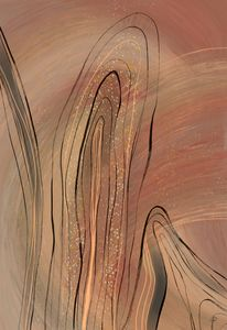 Abstract Elongated Strata