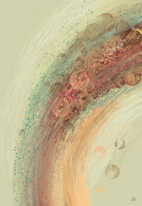 Pastel Bokeh Textured Rainbow - Shreyasi Das