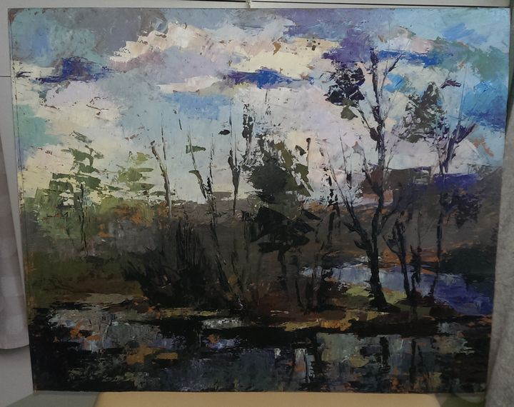 For sale 20+ years old oil painting -  Ernests220