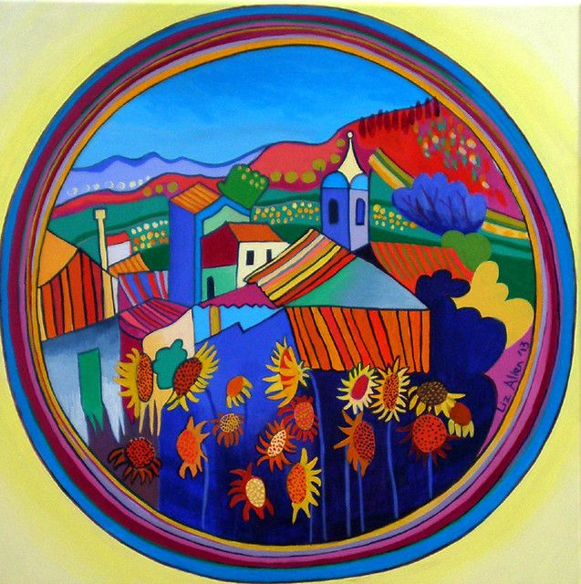 Monchique Summer - Paintings by Liz Allen