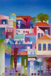 Albufeira - Paintings by Liz Allen