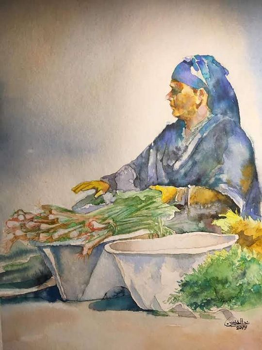 Greengrocer - Khaled Hassan Arts