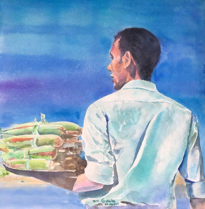 Maize Trader - Khaled Hassan Arts