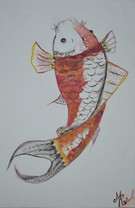 The Colorful Koi - Apothecary Art
