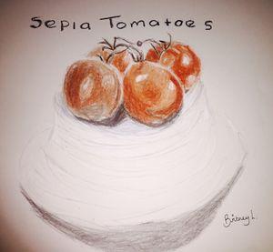 Sepia Tomatoes