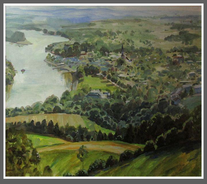 The Emerald town - Elena Kazachkova