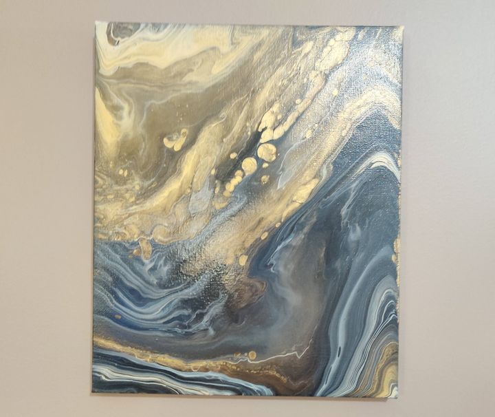 Golden Waves - Creations by Kary