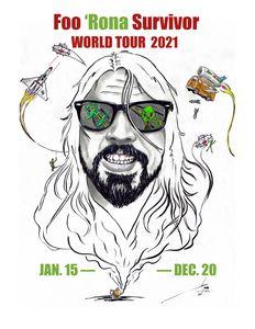 Foo 'Rona Tour 2021
