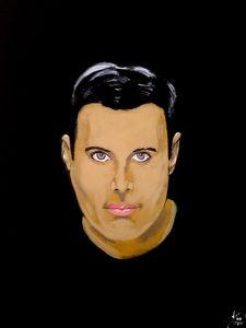 Freddie Mercury - Art By Creekmore