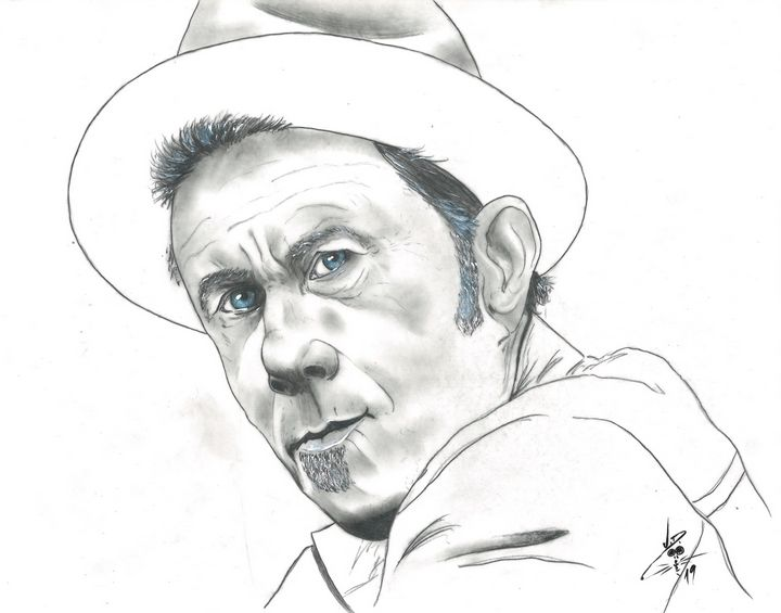 Tom Waits - Art By Creekmore