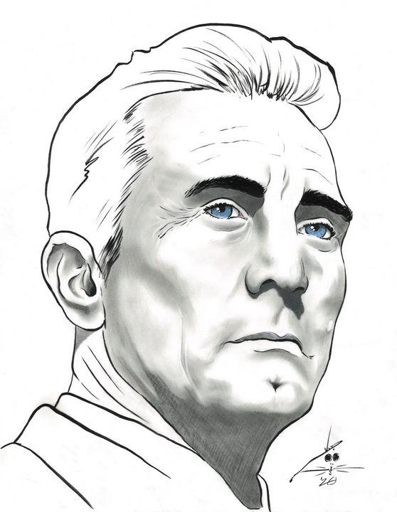 Kirk Douglas - Art By Creekmore