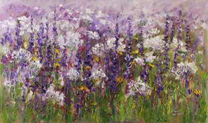 Meadow before the night - Margaret Raven Gallery