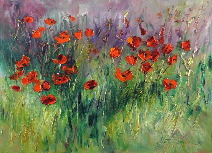 Poppy dawn - Margaret Raven Gallery