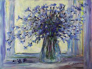 Cornflowers bouquet - Margaret Raven Gallery
