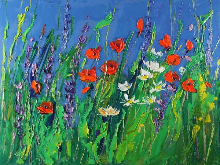 Modern meadow - Margaret Raven Gallery
