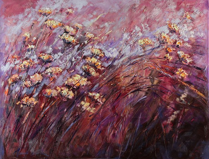 Evening flowers - Margaret Raven Gallery