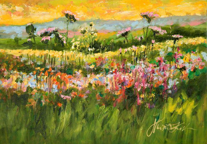 Meadow Landscape - Margaret Raven Gallery