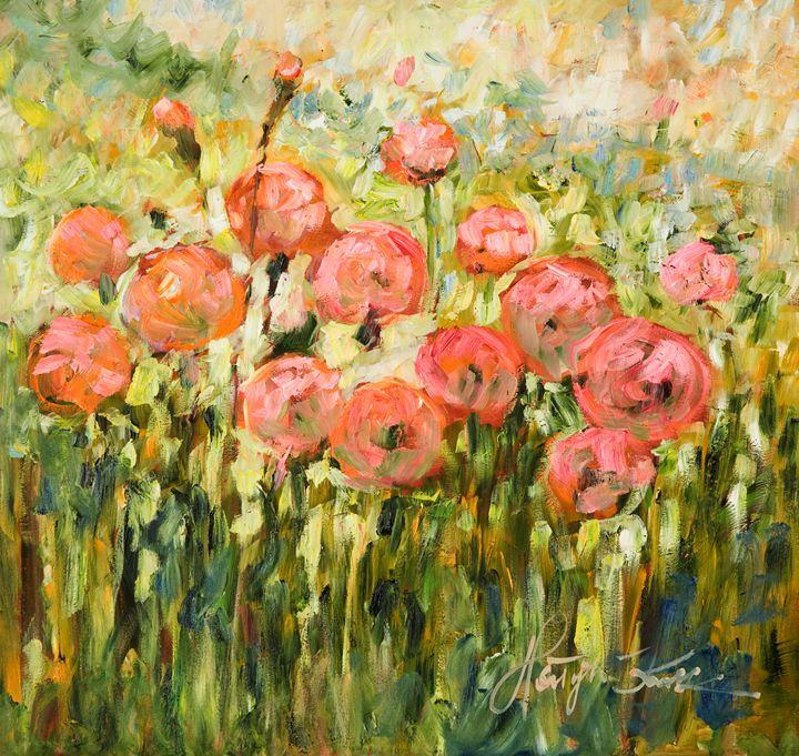 Pink Dandelions - Margaret Raven Gallery