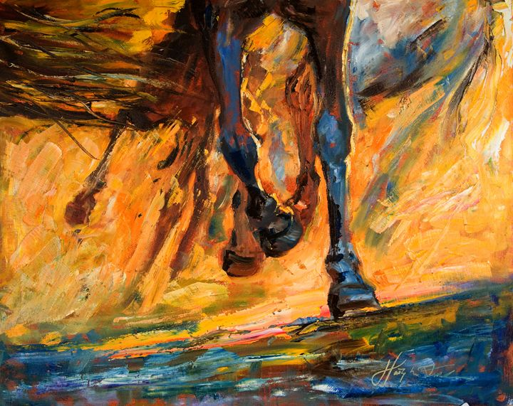 Galloping horse - Margaret Raven Gallery
