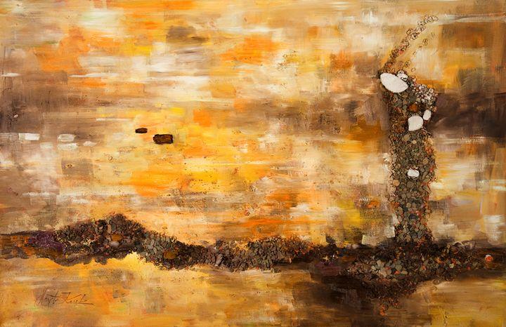 Orange Haven - Margaret Raven Gallery