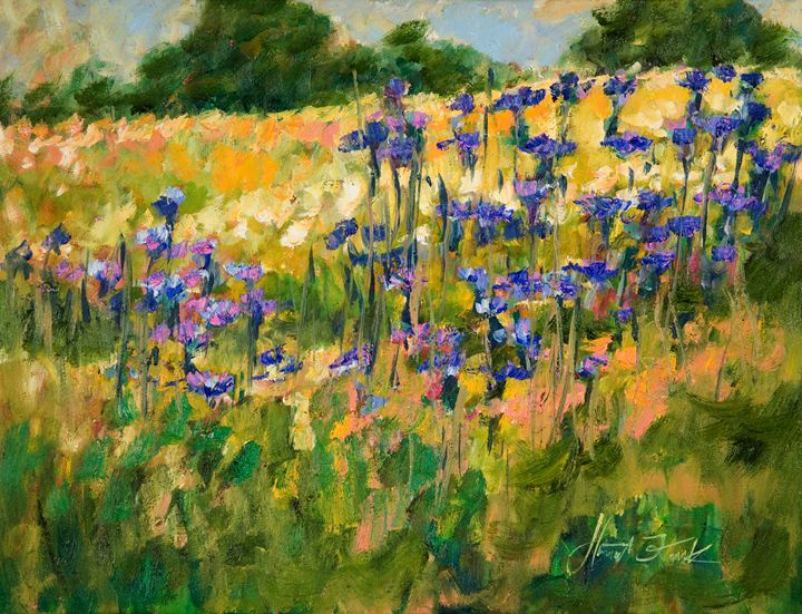 Rural meadow - Margaret Raven Gallery