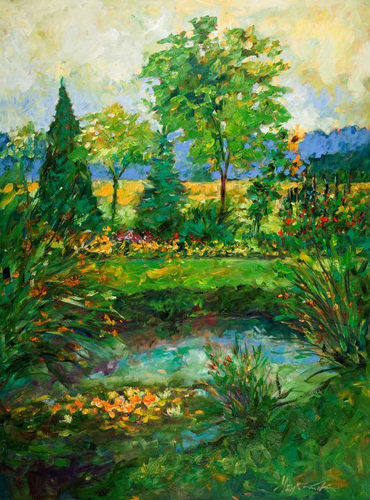 Hidden Lake - Margaret Raven Gallery