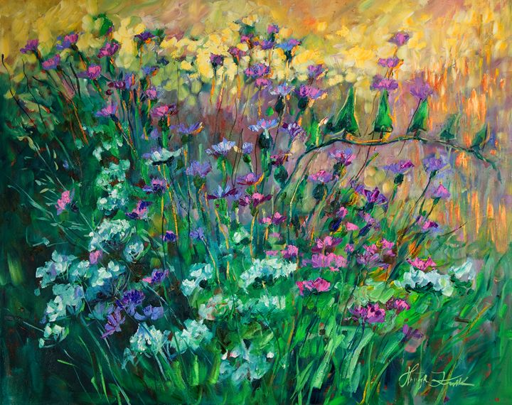 Beautiful green meadows - Margaret Raven Gallery