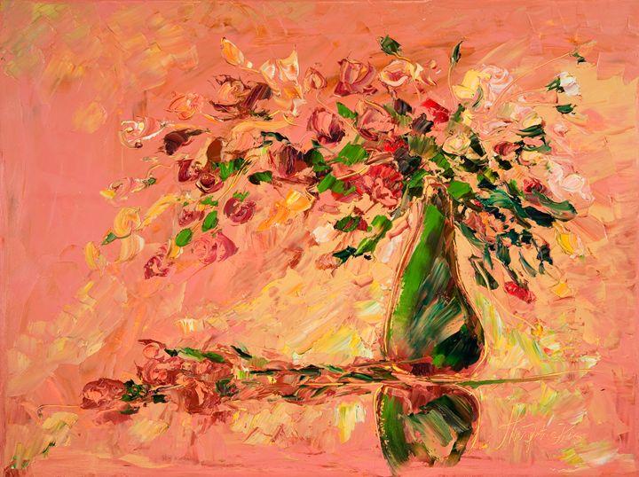 Flower in vase - Margaret Raven Gallery