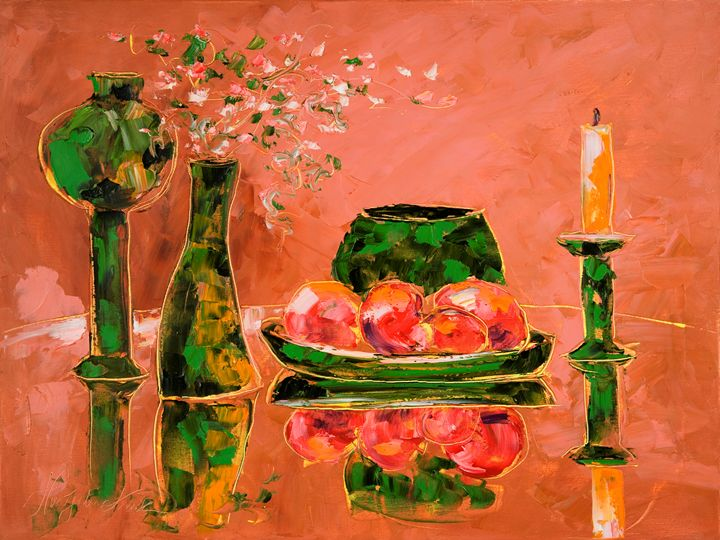 Still life in lunch - Margaret Raven Gallery
