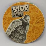 Recycled CD Coaster