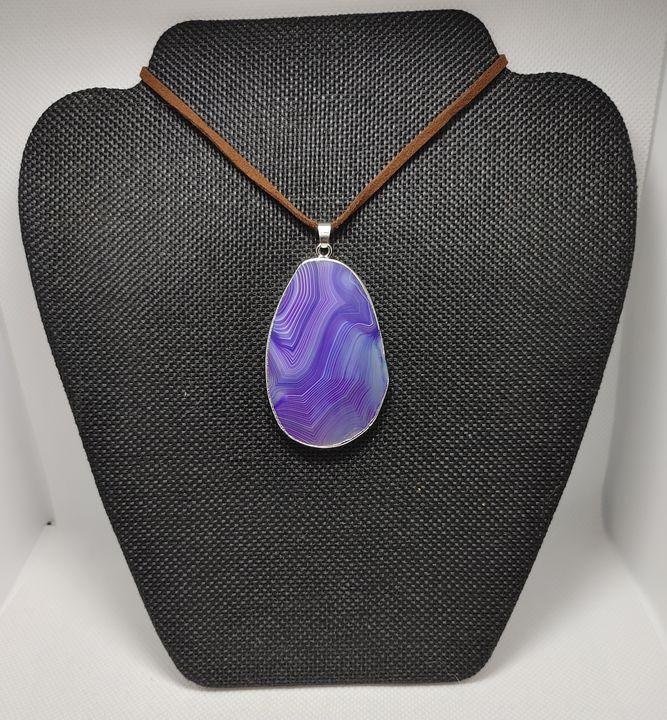 Purple Agate - Lair of the Dark Bunny