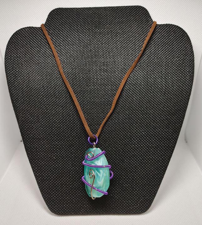 Purple Swirl - Lair of the Dark Bunny