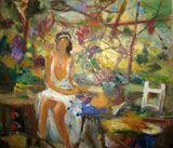 60 x 50 cm oil on canvas