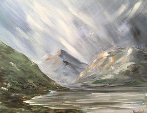 Gap of Dunloe, Abstract, Ireland