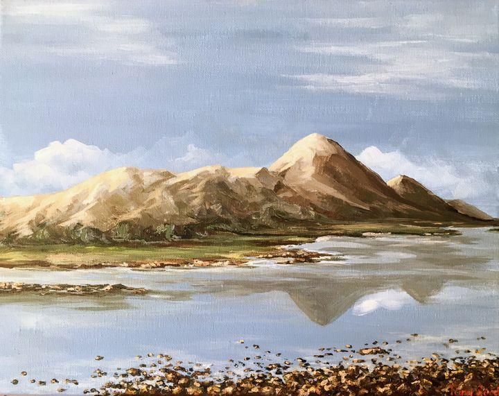 Croagh Patrick From Afar - Tara Good Art