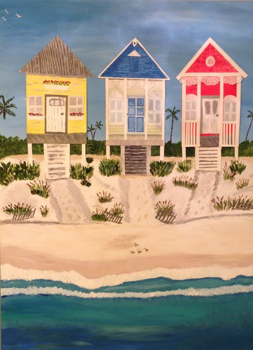 Colorful Cottages - Sherri McKendree