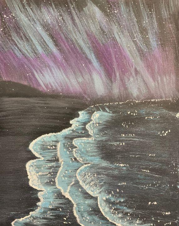 Midnight Beach - Nb Art Collections