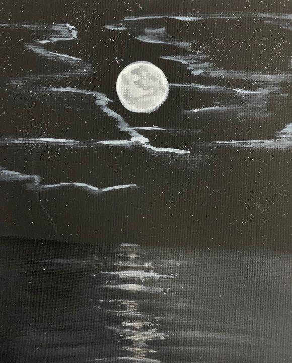 Peeking Moon - Nb Art Collections