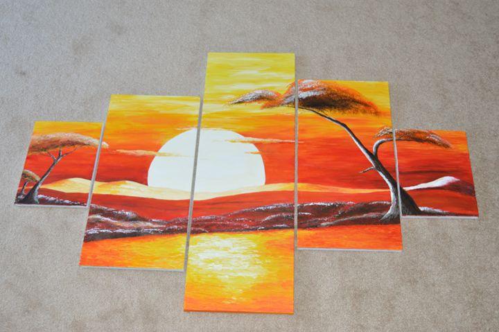 Sunset on the Saharah - Conroy Creations