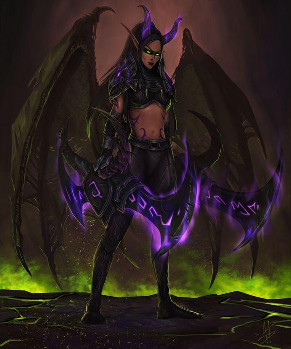 Blood Elf Demon hunter - MiraSand