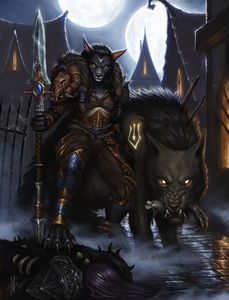Worgen Hunter
