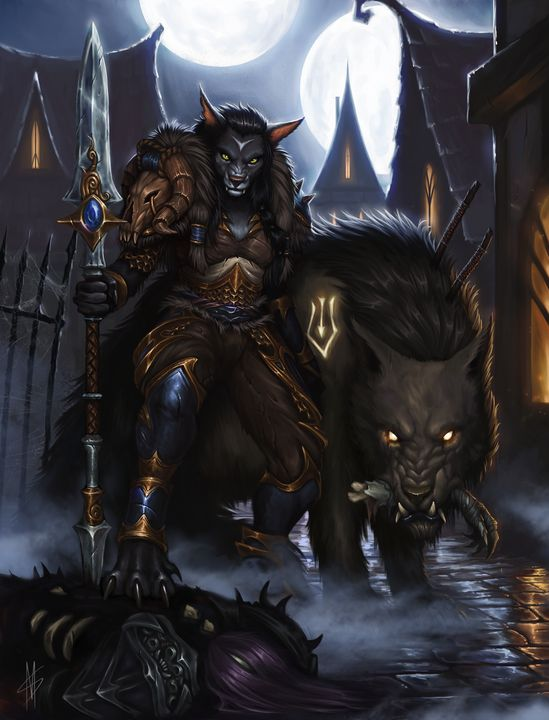 Worgen Hunter - MiraSand