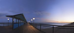 Boscombe Pier at dusk - Gem Photography